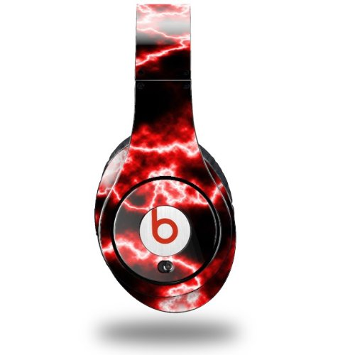 Electrify Red Decal Style Skin (Fits Original Beats Studio Headphones - Headphones Not Included)