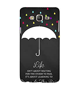 99Sublimation Lovely Quote 3D Hard Polycarbonate Back Case Cover for Samsung Galaxy On5 :: Pro