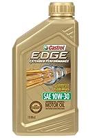 Castrol 06241 EDGE 10W-30 Titanium Synthetic Motor Oil - 1 Quart Bottle, (Pack of 6) from Castrol