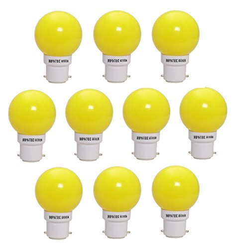 0.5W-LED-Bulbs-(Yellow,-Pack-of-10)