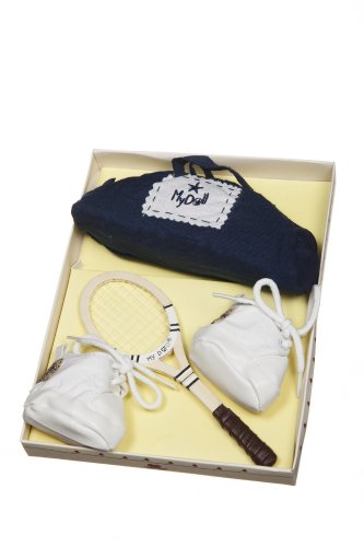 My Doll tennis kit for 25 cms doll