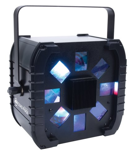 American Dj Supply Quad Phase Dynamic Led Effect Light Multi Beam Multi Colored Wide Coverage