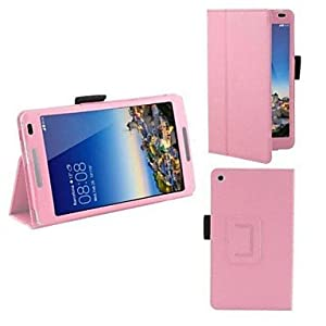 10.1 Inch Lichee Pattern PU Leather Case with Stand Holder for Huawei