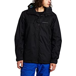 Oakley Men's White Smoke Jacket (Black, XX-Large)