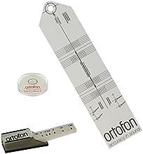 Ortofon conjunto de alineación fono: presión de la aguja de calibre / escala, libelle und herramienta de alineación del cartucho