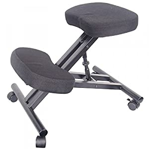 Itodoweb silla de rodilla silla ergonomica silla oficina for Silla ergonomica amazon