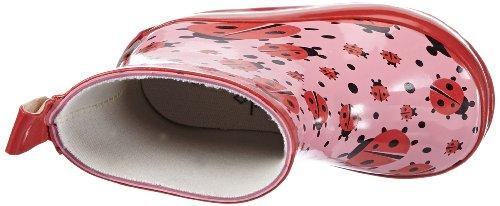 Playshoes Gummistiefel Marienkäfer nieder 180360, Mädchen Gummistiefel, Pink (original 900), EU 20 -