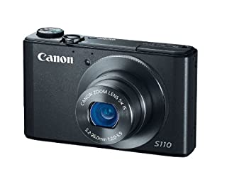 Canon PowerShot S110 12.1MP Digital Camera with 5x IS Zoom (Black)