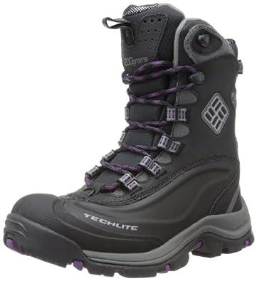 Columbia Women's Bugaboot Plus II Omni-Heat Trekking and Hiking Boots BL3876 Black/Shale 3 UK, 36 EU, 5 US