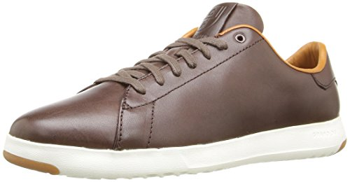 Cole Haan Men's Grandpro Tennis Fashion Sneaker, Chestnut Handstain, 12 M US (Cole Haan Boots Men Brown compare prices)