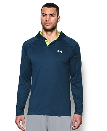 Under Armour Men's Tech Popover Hoodie, Blackout Navy (997), Small