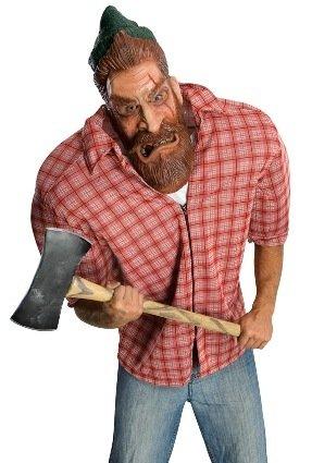 Rubies Mens Halloween Outfit Paul Bunyan Lumberjack
