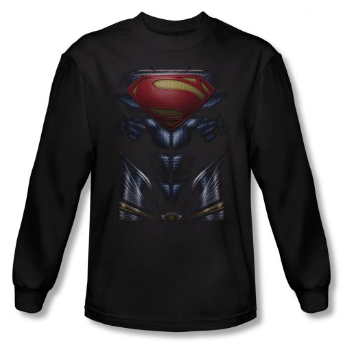 Superman Man of Steel - Costume Design Men's Long Sleeve T-Shirt