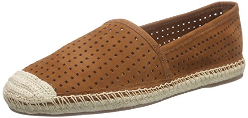 Buffalo London125515 NOBUCK - Espadrillas Donna , Marrone (Braun (CINNAMON 01)), 37