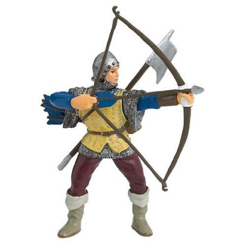 Archer bleu figurines PAPO