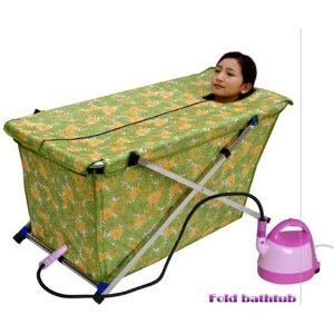 common tubs folding bathtub massage bathtub portable sauna cabin wet bath p. Black Bedroom Furniture Sets. Home Design Ideas