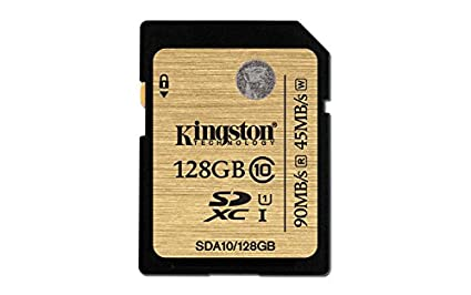 Kingston SDA10/128GB 128GB SDXC Class 10 UHS-I Memory Card