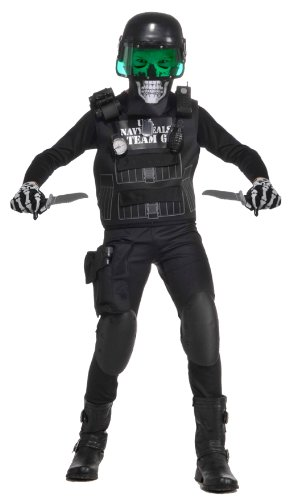 Value Black Seal Team 6 Costume with Accessories, Large
