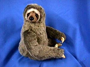 Hansa Three-Toed Sloth Stuffed Plush Animal, Sitting