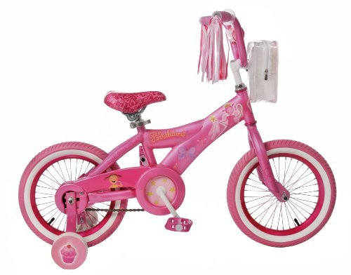 Educational Products - Pinkalicious Girls' Bike (16-Inch Wheels) - Includes Training Wheels
