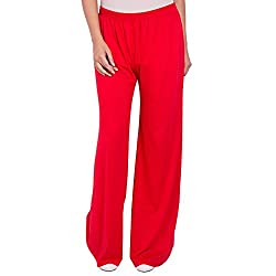 Diva Boutique Women's Palazoo (rv-01_Red_36)