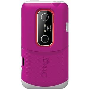 OtterBox Commuter Series Hybrid Case for HTC EVO 3D - AVON Pink/White