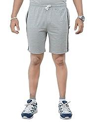 TeesTadka Solid Men's Sports Shorts - B0119TJVBO