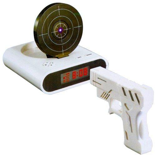 射撃目覚まし時計 12736