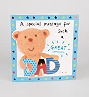 Antony Bear Record Your Own Fathers Day Card