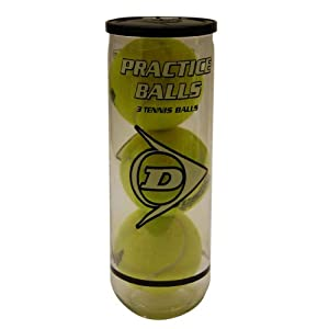 Dunlop Sports Tennis Practice 3 Ball Can