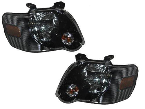 Ford Explorer/Sport Trac Headlights Oe Style Headlamps Driver