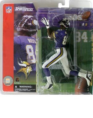 Football Series 1: Randy Moss with Purple Jersey
