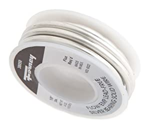 Forney 38052 Lead Free Solder Solid Flo Temp, 1-Pound