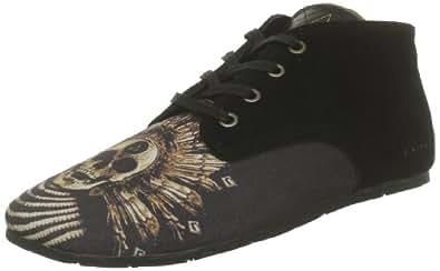 Eleven Paris Bastee Midelo, Chaussures à lacets mixte adulte - Noir (Black), 37 EU