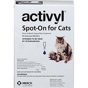 Activyl Cats Over 9 Lbs 6pk Cats