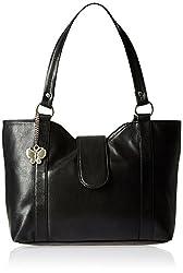 Butterflies Women's Handbag (Black) (Bns Wb036)