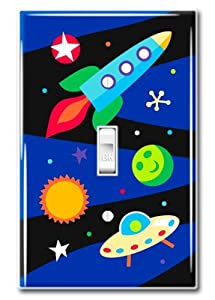 Olive Kids Out of This World Kids Light Switch Plate Cover