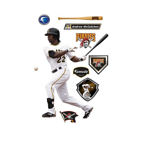 MLB Pittsburgh Pirates Andrew McCutchen Wall Graphic