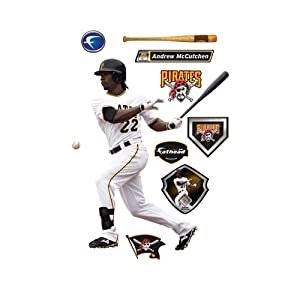 MLB Pittsburgh Pirates Andrew McCutchen Wall Graphic by Fathead