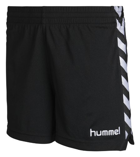 Hummel, Pantaloni corti Donna Stay Authentic Poly, Nero (Black), M