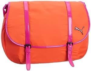 "Puma Women's Avenue Large Satchel Side-Bag L44""x H29""x W11"" Orange"