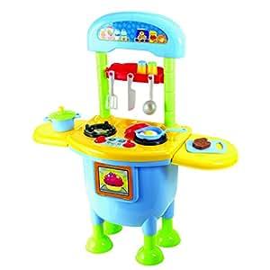 Playgo my first kitchen set 11 piece toys for Kitchen set toys amazon