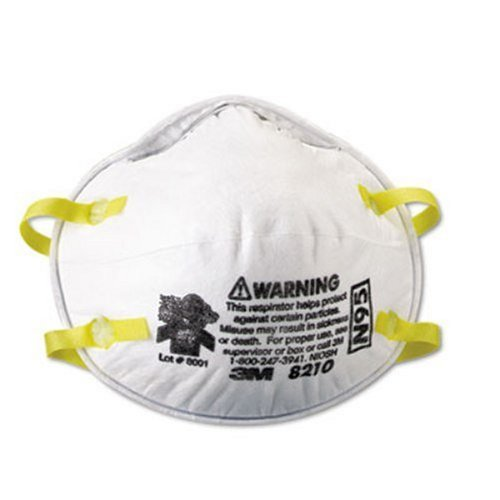 3M 8210Plus Particulate Respirator N95, 20-Pack