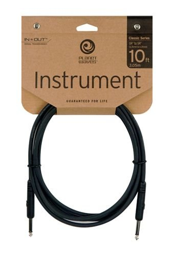 Planet Waves Classic Series Instrument Cable, 10 feet