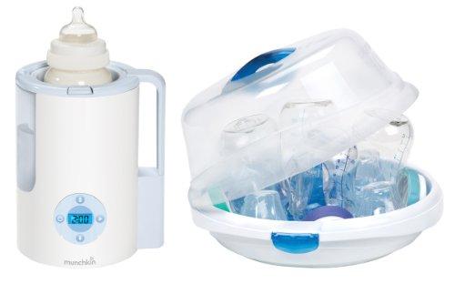 Munchkin Precision Digital Bottle Warmer With Microwave Steam Sterilizer