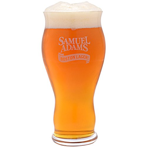 Spiegelau 4992079 Classics Sam Adams Boston Lager Beer Glasses (Set of 4), Clear (Sam Adams Beer Glass Set compare prices)