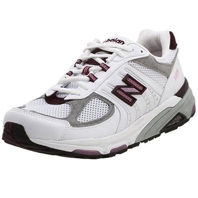 New Balance Women's WR1123 Running Shoe,White/Lolipop,10.5 D