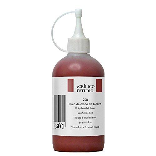 lienzos-levante-estudio-pintura-acrilica-bote-de-250-ml-color-rojo-de-oxido-de-hierro