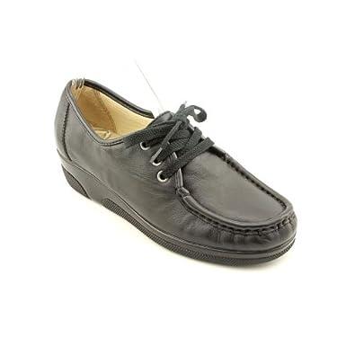 Softspots Women's Annie Hi Shoes,Black,5 M