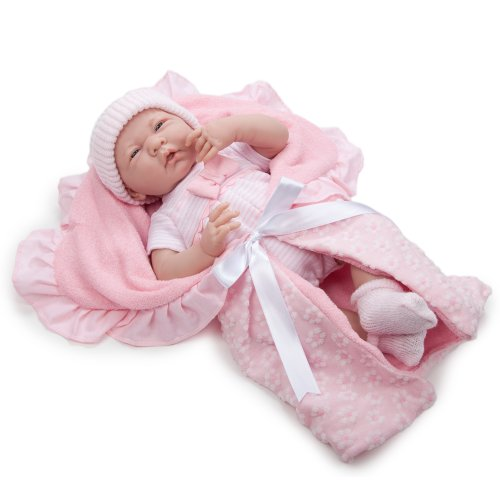 "Jc Toys La Newborn Deluxe Layette 15.5"" Doll Gift Set"